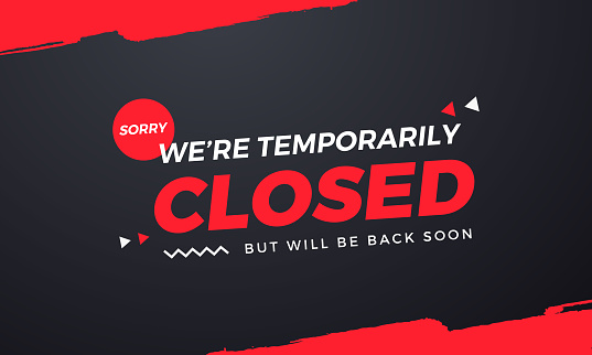 Sorry We're Temporarily Closed. Will be back soon High Resolution Enjoy.